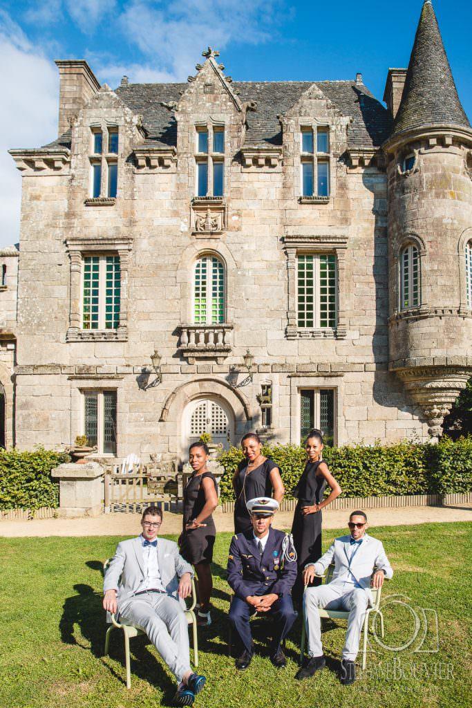 Mariage château de Rimaison, Pluvigner
