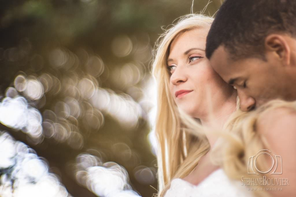 Mariage, photo de couple, dream bokeh