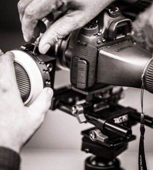 Photos de plateau sur tournage de court-métrage