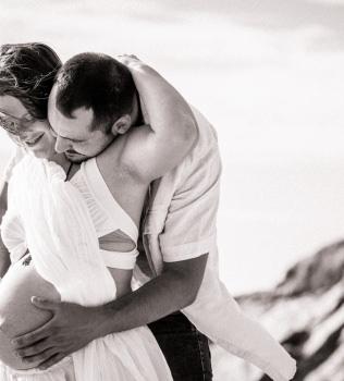 Photos de grossesse avec Adeline et Nicolas