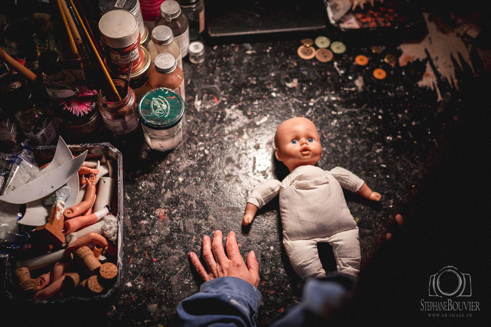 Photos de plateau «Je suis un cadeau»